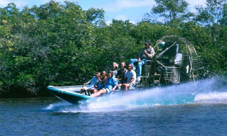 Florida Everglades by boat