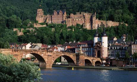 Heildelberg, Neckar Valley, Germany