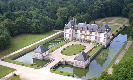 Chateau de Bourron, France