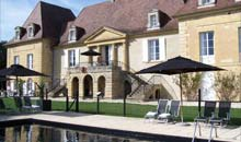 Chateau les Merles, France