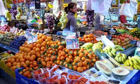 Valencia market, Spain