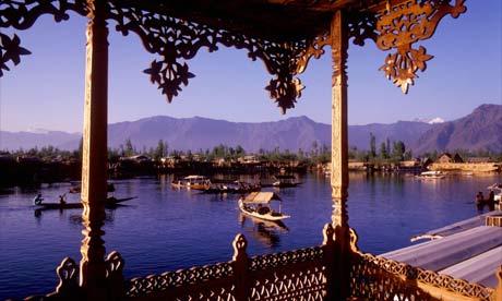 House boat in Kashmir