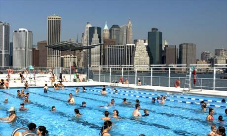 Art Swimming Movies Stay Cool In New York Travel The Guardian