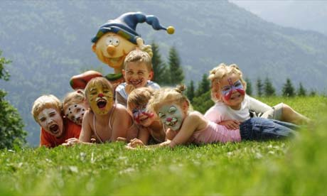 Kids holidays in the Alps