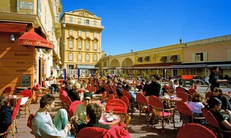 Улицы и площади Ниццы - Достопримечательности Ниццы, что посмотреть в Ницце. Путеводитель по городу Ницца.
