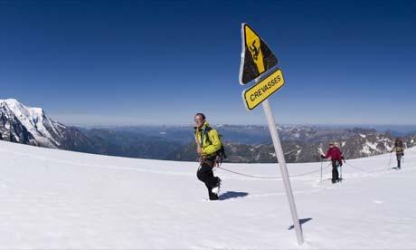 Jonathan Trigell in Chamonix