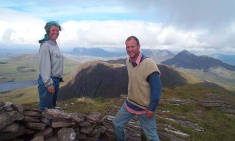 Climbing Suilven, Scotland