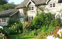 The Grade II-listed cottages at Chruch Farm
