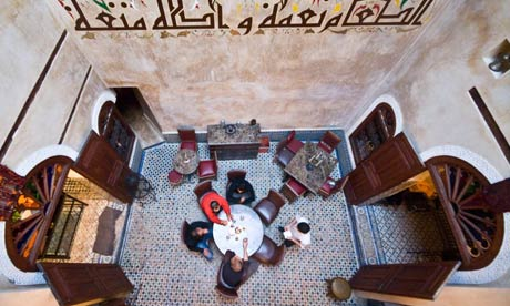 Café Clock in Fes
