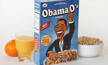 AirbedandBreakfast's Obama O's election cereal