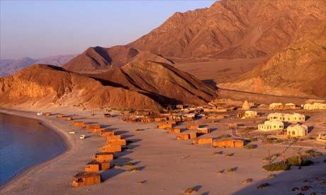 Basata camp beach, Egypt