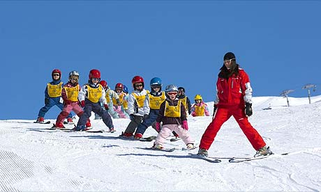There are ski schools and family-friendly resorts for everyone, ...