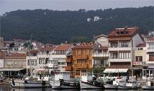 Burgazadasi harbour, Princes' Islands, off Istanbul, Turkey