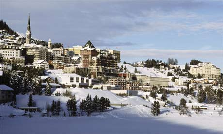 St Moritz ski resort, Switzerland