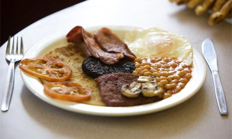 English Breakfast fry up