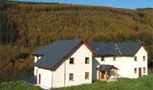 Afan Lodge for mountain bikers in Wales