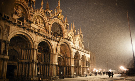 New Years eve in Venice.