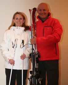 Ski clinic: Martin and Caroline White