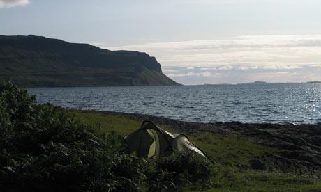 Mike's big British bike adventure - Isle of Mull
