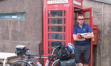 Mike's big British bike adventure - Mike Carter
