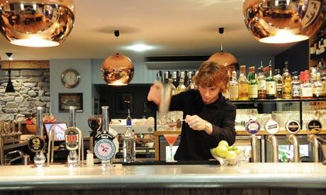 The Harbourmaster pub in Aberaeron