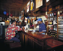 A shebeen in Soweto, Johannesburg