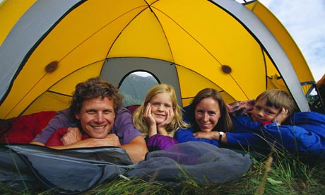 Which type of camper are you? - Whether you prefer to glamp it up or go wild, seasoned camper Ed Douglas has advice for the perfect UK holiday under canvas - 09/04/2009 - The Guardian - Journalist: Ed Douglas