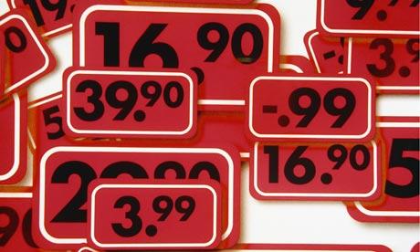 Budget price tags