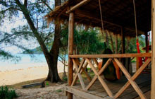 Lazy Beach guesthouse, Koh Tang island, Cambodia