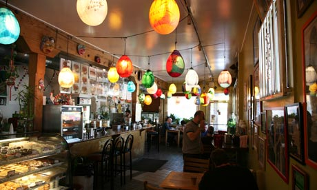 Cafe Tropical, Silver Lake, Los Angeles