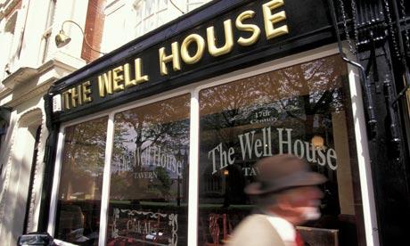 The Well House Tavern, Devon, UK