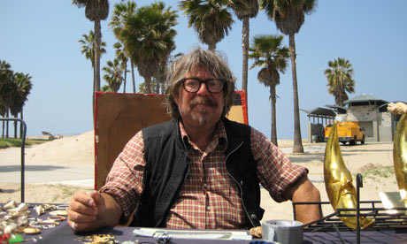 Stall seller on Venice Beach, Los Angeles, California