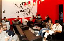 The Manga literary cafe in Paris