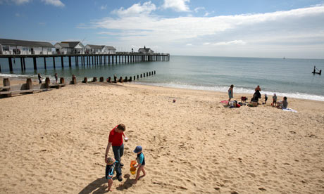 Southwold beach, Suffolk.