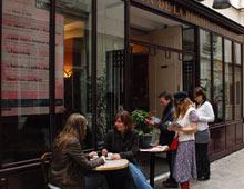 Maison Poesie literary cafe, Paris, France