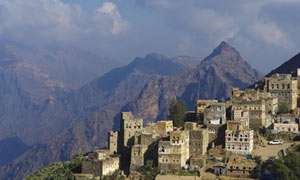 Yemen, Djebel Haraz, Manakha village
