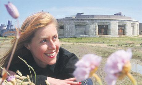 Agnès Poirier conquers Henry's sea fort