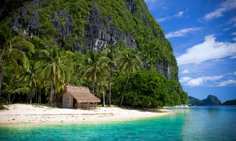 Totally tropical  Bacuit Bay, El Nido, is the base for the Aurora