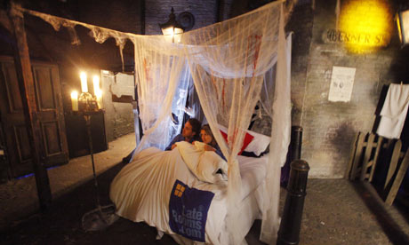 Spend the night at London Dungeon's hotel room created for LateRooms.com
