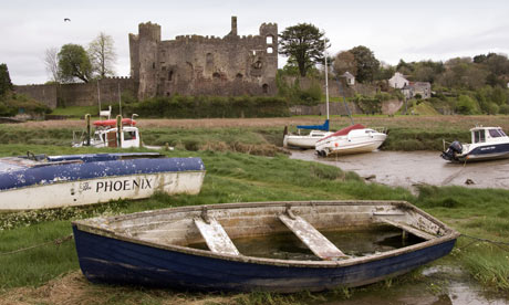 Dylan Thomas walk, Laugharne
