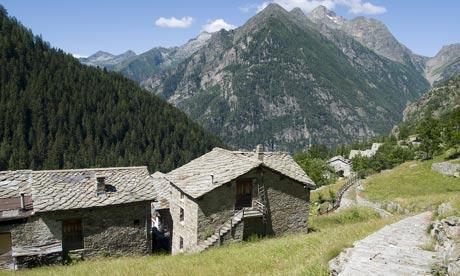 La Gruba Alpine lodge, Valle d'Aosta, Italy