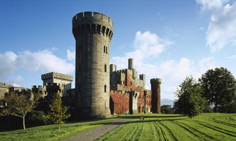 Penrhyn Castle, Gwynedd. National Trust holidays