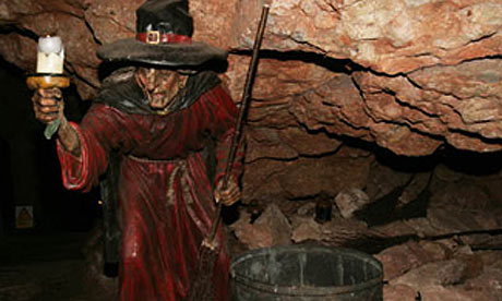 Wookey Hole witch, Somerset