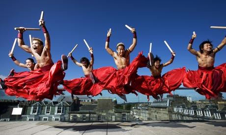 Tao Samurai Drummers, Edinburgh Festival Fringe