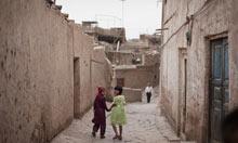 City of Kashgar in Xinjiang, China