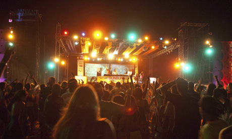 Goa's Sunburn festival, India