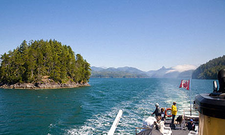 Uchuck cruise in Nootka Island, Canada