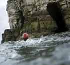 Wild swimming in Flamborough