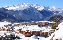 Village of Aussois, Maurienne Valley, France