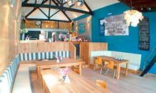 Sam's On The Beach cafe, Fowey, Cornwall